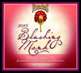 Founders Blushing Monk 2015
